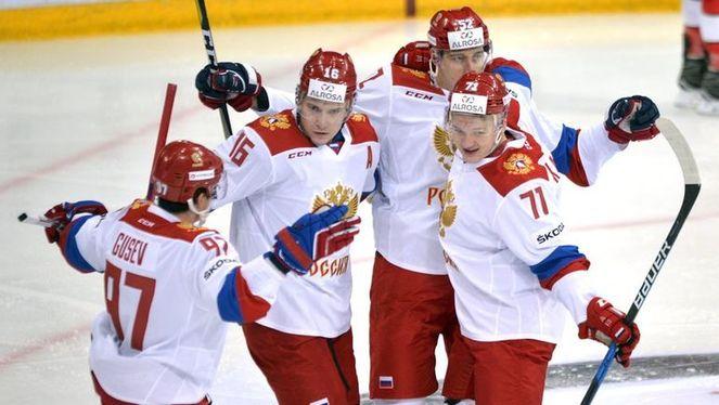 вас состав сборной россии по хоккею кубок карьяла должно быть без